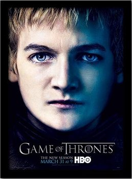 GAME OF THRONES 3 - joffery ingelijste poster met glas