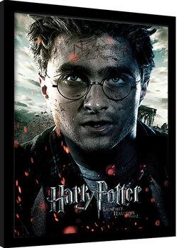 Ingelijste poster Harry Potter: Deathly Hallows Part 2 - Harry