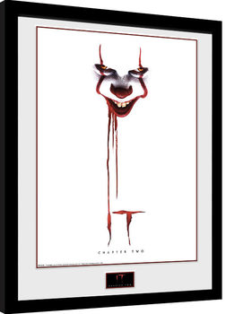 Ingelijste poster IT: Chapter 2 - Blood