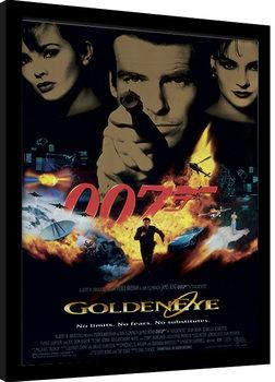 Ingelijste poster JAMES BOND 007 - Goldeneye