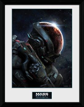 Mass Effect Andromeda ingelijste poster met glas