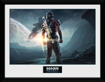 Mass Effect Andromeda - Landscape ingelijste poster met glas
