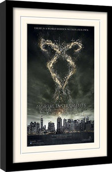 MORTAL INSTRUMENTS - rune ingelijste poster met glas