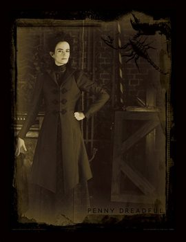 Penny Dreadful - Sepia ingelijste poster met glas