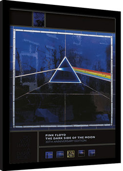 Ingelijste poster Pink Floyd - Dark Side of the Moon (30th Anniversary)