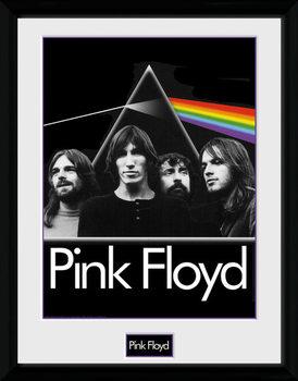Pink Floyd - Prism ingelijste poster met glas