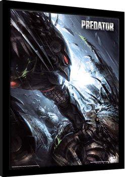 Ingelijste poster Predator - The Hunter Becomes The Hunted