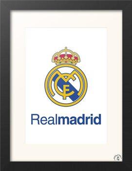 Ingelijste poster Real Madrid