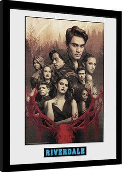 Ingelijste poster Riverdale - Season 3