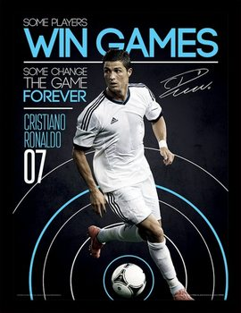 Ronaldo - Change The Game Ingelijste poster