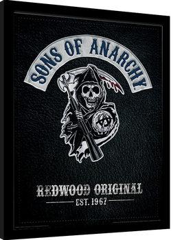 Ingelijste poster Sons of Anarchy - Cut