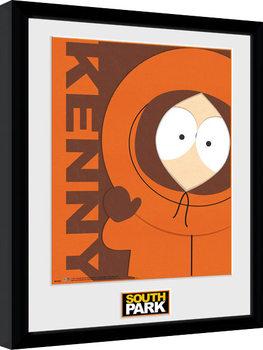 South Park - Kenny ingelijste poster met glas