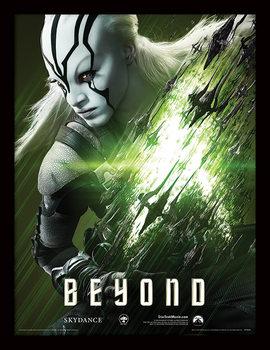 Star Trek Beyond - Jaylah ingelijste poster met glas