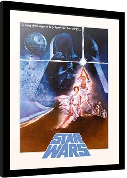 Ingelijste poster Star Wars - Classic