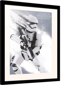 Ingelijste poster Star Wars: Episode VII - The Force Awakens - Stormtrooper