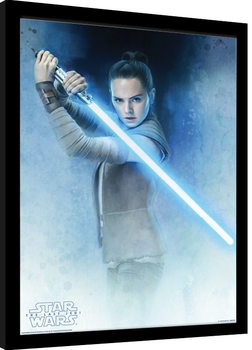Star Wars: The Last Jedi - Rey Lightsaber Guard Ingelijste poster