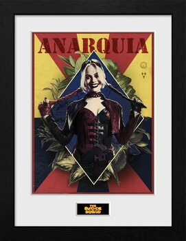 Ingelijste poster Suicide Squad - Harley Quinn