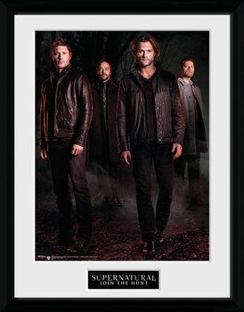 Supernatural - Key Art ingelijste poster met glas