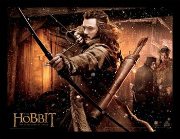 THE HOBBIT: THE DESOLATION OF SMAUG - bard Ingelijste poster