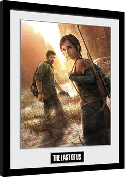 Ingelijste poster The Last Of Us - Key Art