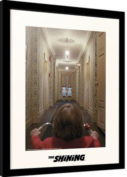 Ingelijste poster The Shining