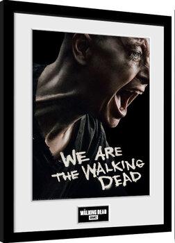 Ingelijste poster The Walking Dead - Alpha