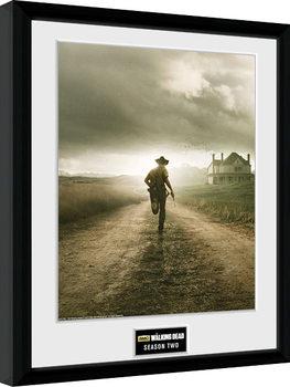 Ingelijste poster The Walking Dead - Season 2