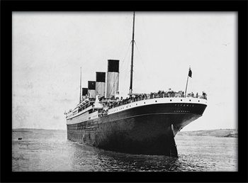 Ingelijste poster Titanic (3)