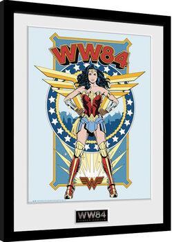 Ingelijste poster Wonder Woman 1984 - Comic