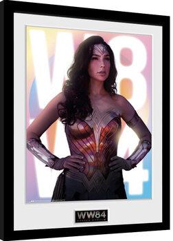 Ingelijste poster Wonder Woman 1984 - Glow