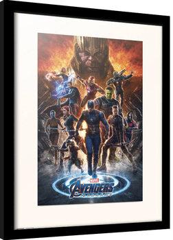 Innrammet plakat Avengers: Endgame