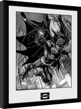 Innrammet plakat Batman Comic - Hook