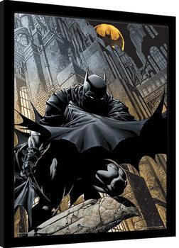 Innrammet plakat Batman - Night Watch