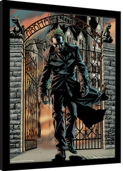 Innrammet plakat Batman - The Joker Released
