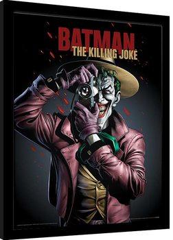 Innrammet plakat Batman - The Killing Joke Cover