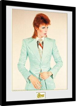 Innrammet plakat David Bowie - Life On Mars