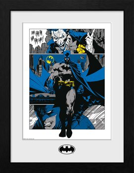 Innrammet plakat DC Comics - Batman Panels