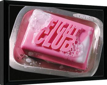 Innrammet plakat Fight Club - Soap