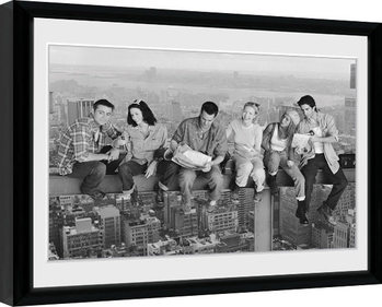 Innrammet plakat Friends - On Grider