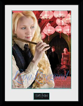 Innrammet plakat Harry Potter - Luna