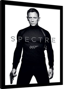 Innrammet plakat James Bond: Spectre - Black and White Teaser
