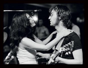 Innrammet plakat JOHN LENNON - John & Yoko / Bob Gruen