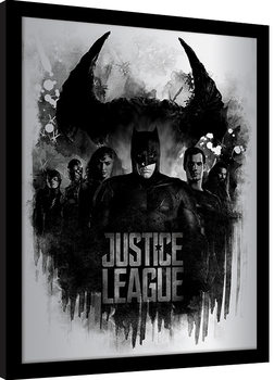 Innrammet plakat Justice League - Dark Horizon