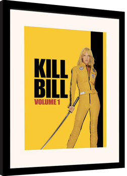 Innrammet plakat Kill Bill - Vol. 1