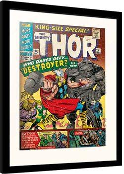 Innrammet plakat Marvel - Thor - King Size Special