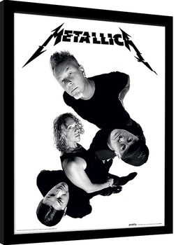 Innrammet plakat Metallica - Twisted Band