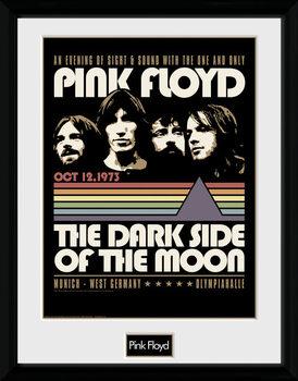 Innrammet plakat Pink Floyd - 1973