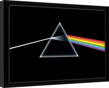 Innrammet plakat Pink Floyd - Dark Side of the Moon