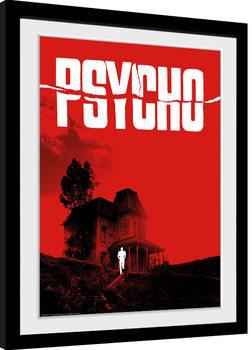 Innrammet plakat Psycho - Bates Motel