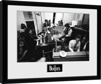 Innrammet plakat The Beatles - Studio
